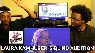 I Will Always Love You (Laura Kamhuber) | The Voice Kids 2013 | Blind Audition | (REACTION)