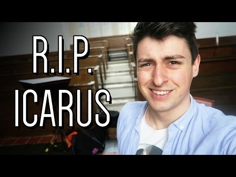 R.I.P. Icarus | A week as a PhD student #9