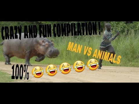 RUN MEME COMPILATION !!! (MAN VS ANIMALS) 100% 😂😂😂
