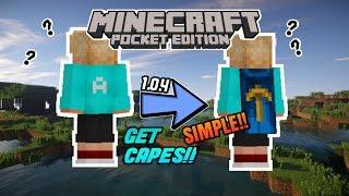 Cara Mendapatkan Jubah/Capes?!! Gratis! 1.0.4 - Minecraft PE