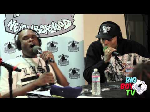 """Chris Brown and Big Boy Bust a Freestyle """"All Up in There""""