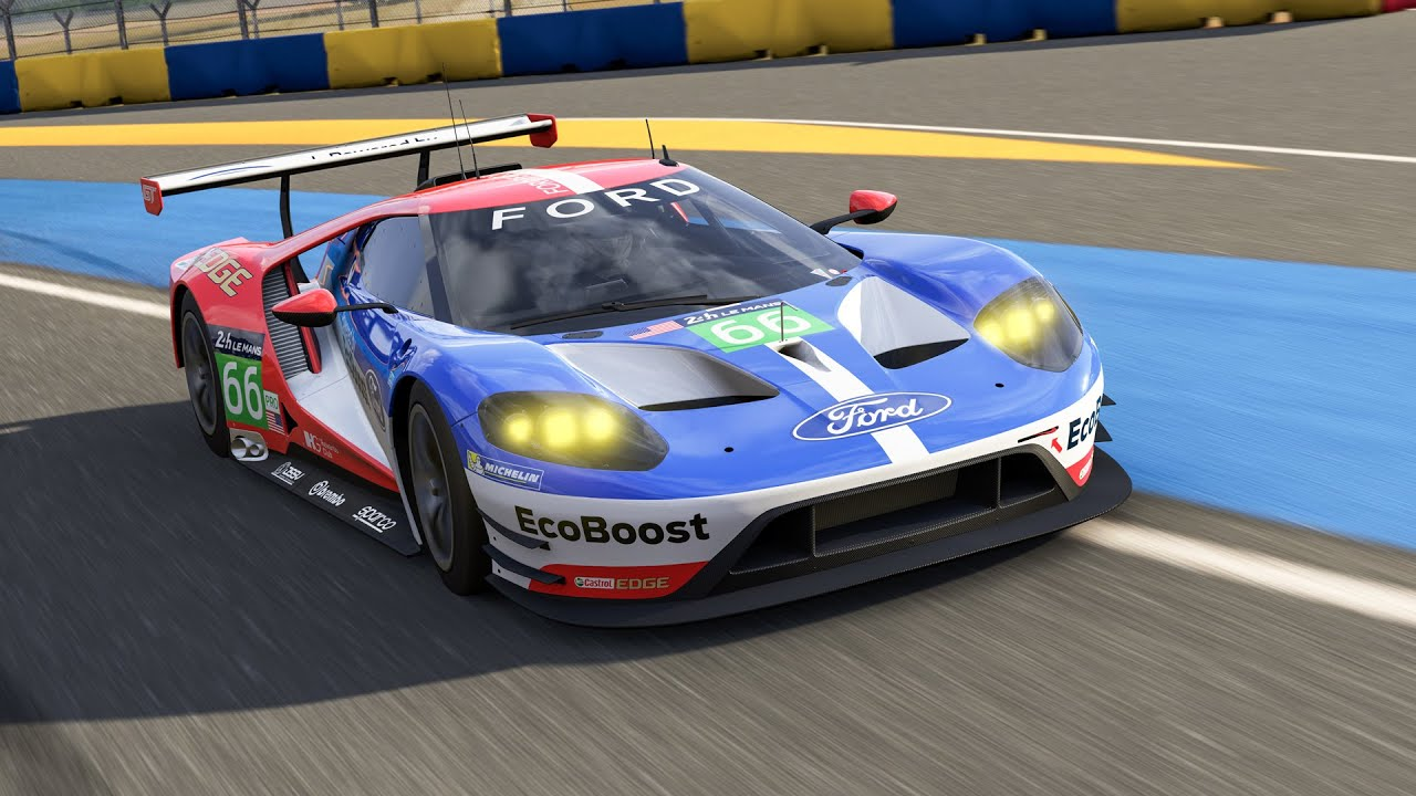 forza racing championship and the free 2016 #66 ford gt le mans
