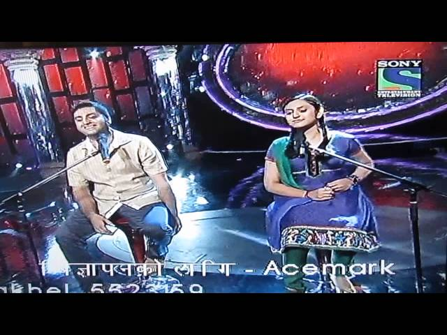 Indian Idol Junior 2013 - Devanjana with Arijit Singh singing Tum Hi Ho Travel Video