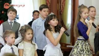 """Снежинка -  Начало - Новогодняя встреча учеников и гостей Музыкальной школы """"Фантазия"""" 14.12.14"""