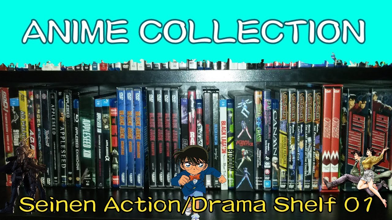 Download ANIME DVD/BLU RAY COLLECTION | Seinen Action/Drama Shelf #1