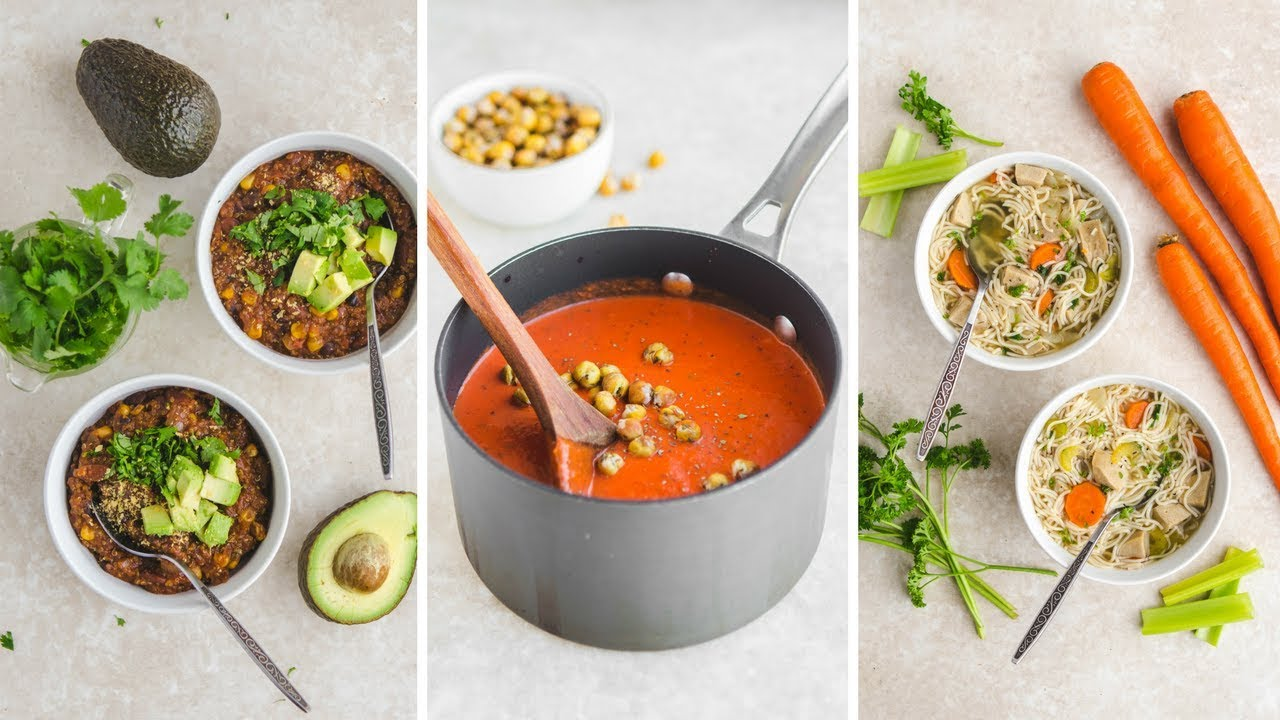 Easy Vegan Soup Recipes (Cozy & Healthy)