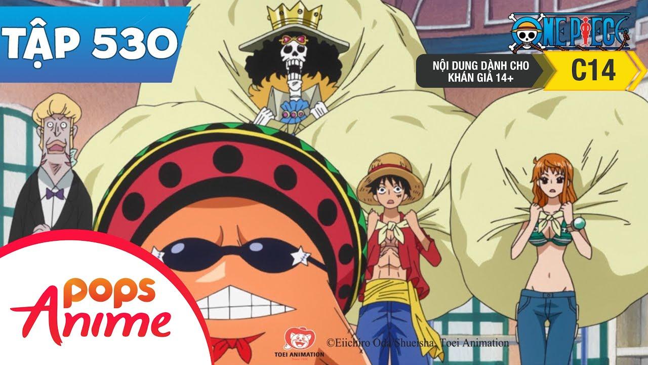 One Piece Tập 530 - Vị Vua Của Đảo Người Cá. Hải Thần Neptune! - Đảo Hải Tặc