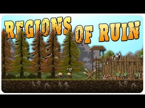 KINGDOM meets DORFS CIV Builder! | Regions Of Ruin Gameplay Part 1?