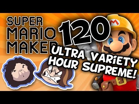 Super Mario Maker: Headscratchers - PART 120 - Game Grumps