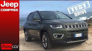 Jeep Compass 2017 Test Drive in Lisbona
