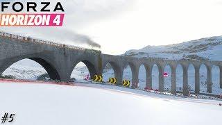 RACING THE FLYING SCOTSMAN TO EDINBURGH! | Forza Horizon 4 Part 5