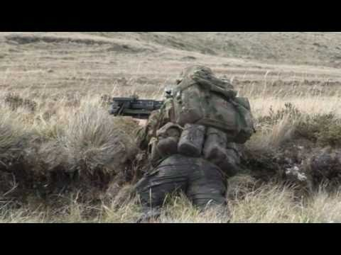 Yorkshire Regiment on the Falkland islands (part 2/3)