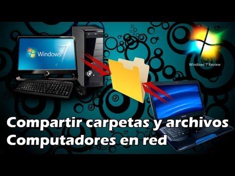 Compartir Carpetas Y Archivos Entre Dos Computadoras En Red (Windows 7 Y 8)