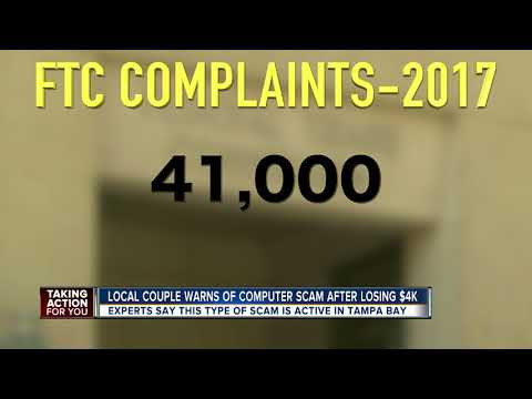 Local couple warns of computer scam after losing $4k