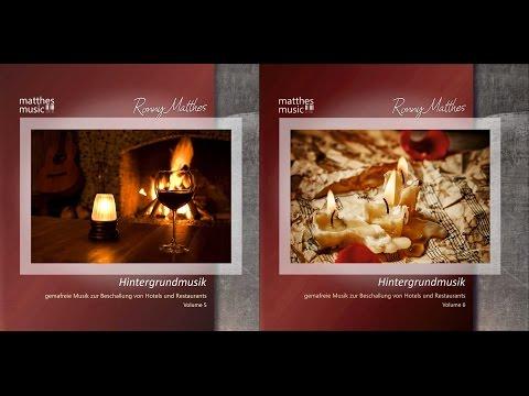 2CDs: Hintergrundmusik, Vol  5 & 6 [Gemafreie Musik für Restaurants | Royalty Free Music]