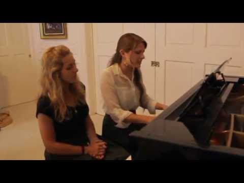 the words-Christina Perri (cover by Abby Urban & Rachel Southward)