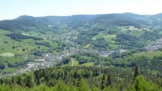 FAUDE - vidéo 3 : le panorama sur le Val d'Orbey au Sud (2013) -
