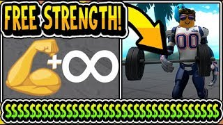 """🥊💪HOW TO GET FREE STRENGTH BOOSTS 2019!!"" 🥊Boxing Simulator 2 [RE-OPEN] Update (Roblox)"