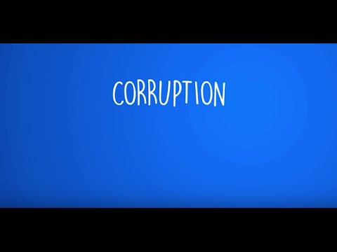 THE ROAD BACK: Culture of Corruption