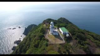 長崎県野母崎樺島の貝瀬と樺島灯台をドローンで撮影した4K動画です。