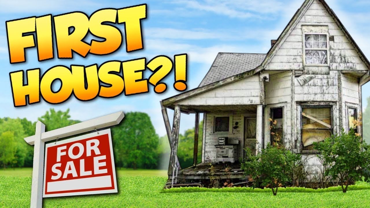 Buying First House  - House Flipper Gameplay - Buying The First Filthy House  Beta