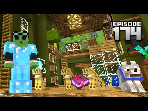 Let's Play Minecraft PE - Ep.174 : Mending And Frost Walker!/1.1