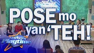Celebrity Playtime: Pose Mo Yan