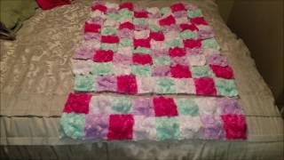 How to make a Bubble Quilt-Filling the Bubbles LAST