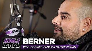 Berner talks RICO, Family Life, Cookies, The Jacka, Dan Bilzerian + more!