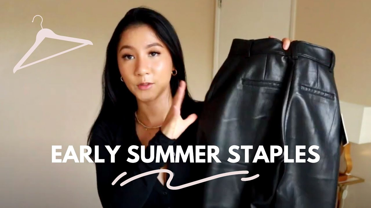 Early Summer Staples For Petites | Featuring Aritzia & Zara