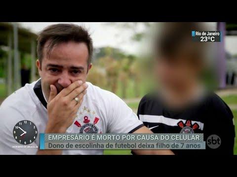 Assaltantes matam empresário no ABC Paulista para roubar celular | SBT Brasil (03/07/18)