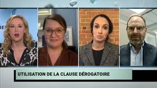 Dépôt de la réforme de la loi 101 à Québec et Justin Trudeau blanchit dans l'affaire WE Charity