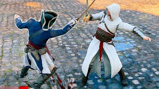 Assassin's Creed Unity Altair s Outfit Free Roam & Rampage with Master Arno