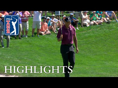 Tiger Woods' Highlights | Round 2 | Quicken Loans 2018