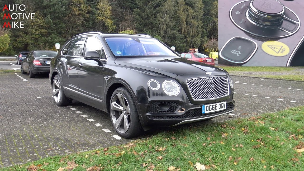 2018 Bentley Bentayga Plug In Hybrid Spied Testing At The