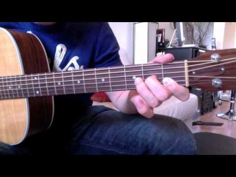 How To Play F Chord On Acoustic Guitar For Beginners - YouTube