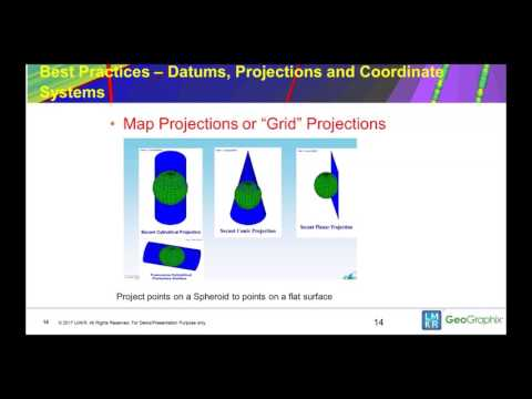 101 Series  Best Practices, Datums, Projections and Coordinate Systems