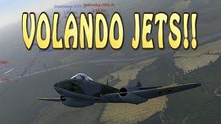 Batalla con Todos mis Jets!! - War Thunder