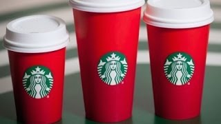 Christians Very Offended By Starbucks Holiday Cups