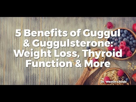 The Benefits of Guggul Extract on Thyroid Function, Weight
