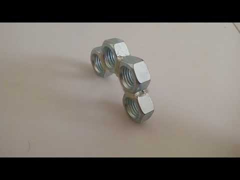 DIYS - Simple Two Ways to Make Knuckles from Nuts
