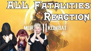 [REACTION] MORTAL KOMBAT 11 Fatalities & Fatal Blows (with LarsHeat) | Otome no Timing