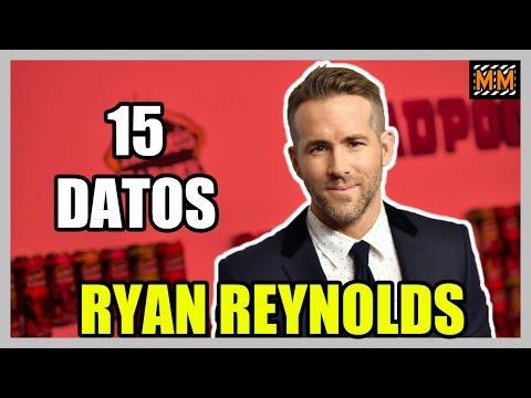 "15 Curiosidades sobre ""RYAN REYNOLDS"" - (Deadpool) - |Master Movies|"