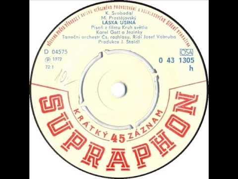 Karel Gott - Láska usíná 1972 Vinyl Records 45rpm