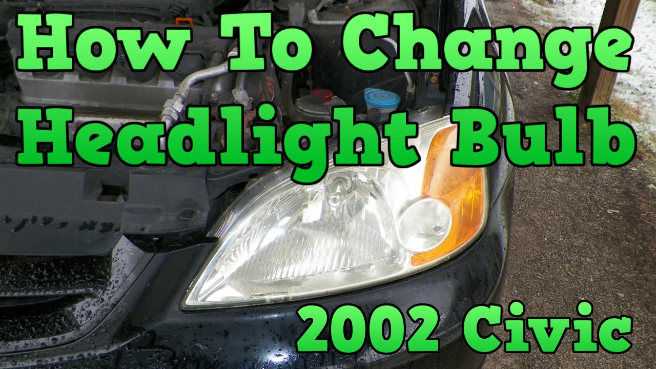 Service Manual How To Change Headlight Bulb In A 2002