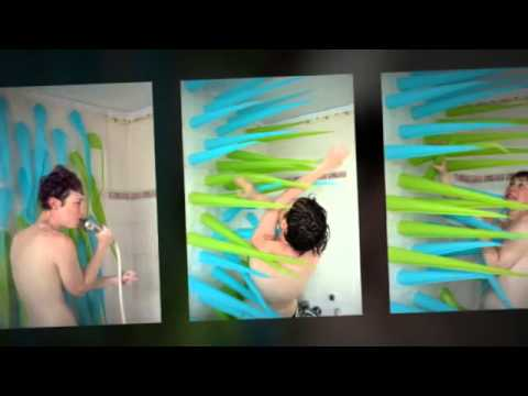 Spiky Shower Curtains Kicks You Out After 4 Minutes To Save