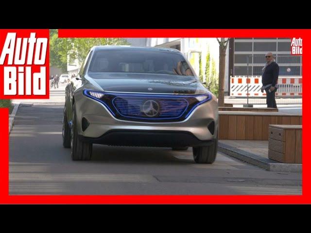Mercedes-Benz Concept EQ/EQC (2019) - Sternen-Gleiter der Zukunft
