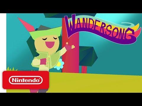 Wandersong - Launch Trailer - Nintendo Switch