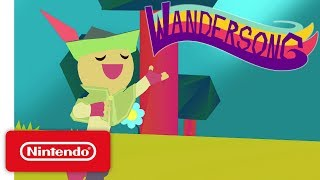 Wandersong - Launch Trailer - Nintendo Switch