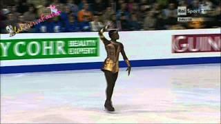 ISU ZAGREB 2013 -11/25-  LADIES FP - Mae Berenice MEITE - 26.01.2013 マエベレニスメイテ 検索動画 13